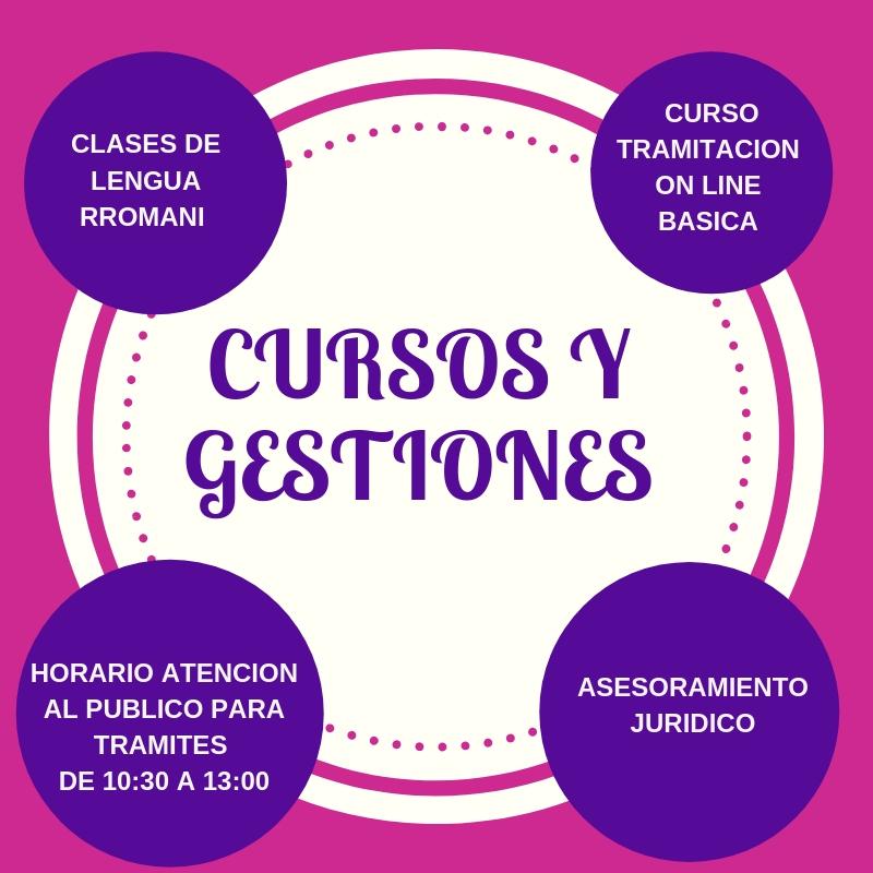 CURSOS Y GESTIONES